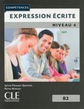 کتاب فرانسه Expression ecrite 4 Niveau B2 - 2eme edition