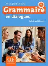 کتاب فرانسه  Grammaire en dialogues grand debutant + CD - 2eme edition