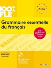 کتاب فرانسه Grammaire essentielle du français niv A1-A2 + CD 100% FLE
