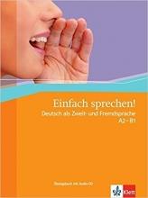کتاب Einfach Sprechen: Ubungsbuch MIT Audio-CD by Sandra Hohmann