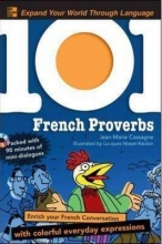 کتاب فرانسه 101 French Proverbs + CD