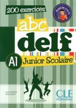کتاب فرانسه  ABC DELF Junior scolaire Niveau A1+ DVD