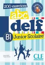 کتاب فرانسه  ABC DELF Junior scolaire Niveua B1 + DVD