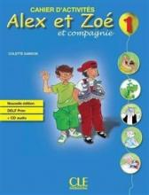 کتاب فرانسه Alex et Zoe Niveau 1 - Cahier d'activite