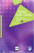کتاب فرانسه CINQ SUR CINQ NIVEAU A2