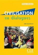 کتاب فرانسه Civilisation en dialogues debutant + CD