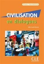 کتاب فرانسه Civilisation en dialogues intermediaire + CD