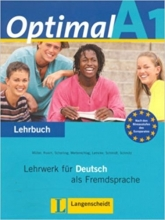 کتاب آلمانی Optimal A1 : Lehrbuch + Arbeitsbuch