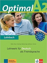 کتاب آلمانی Optimal A2 : Lehrbuch + Arbeitsbuch