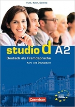 کتاب آلمانی (Studio d Sprachtraining A2 (SB+WB+DVD