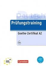خرید کتاب آلمانی Prufungstraining Daf Goethe-Zertifikat A2 + CD