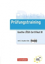 کتاب آلمانی Prufungstraining Daf Goethe-/ÖSD-Zertifikat B1 + CD