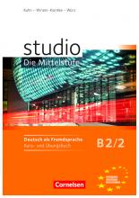 کتاب آلمانی Studio d Die Mittelstufe B2/2 : Kurs und Ubungsbuch